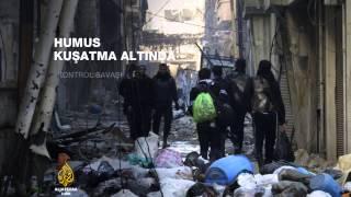 Humus'ta tahliyeler başladı