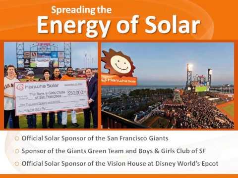 Why Hanwha Solar & HES PV