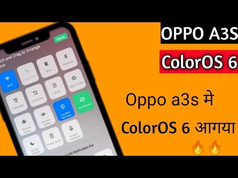Oppo A3s ColorOs 6 | Use ColorOs 6 0 on Oppo A3s | ColorOs