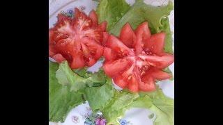 Как сделать цветок из помидора(Для того, чтобы сделать красивый цветок из помидора понадобится: нож, помидор и листья салата. Также такое..., 2015-06-07T14:49:02.000Z)