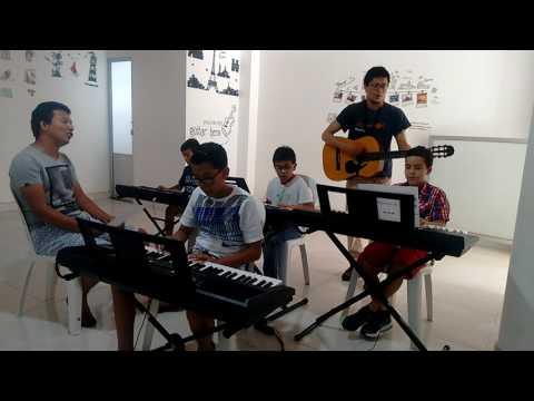 FUNACSEP. Escuela de Música (ensayo - Flaca, Andres Calamaro)