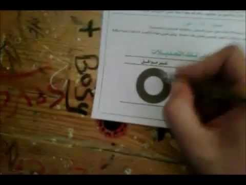 How to Vote in Egypt - Constitution vote - Sheikh Zayed