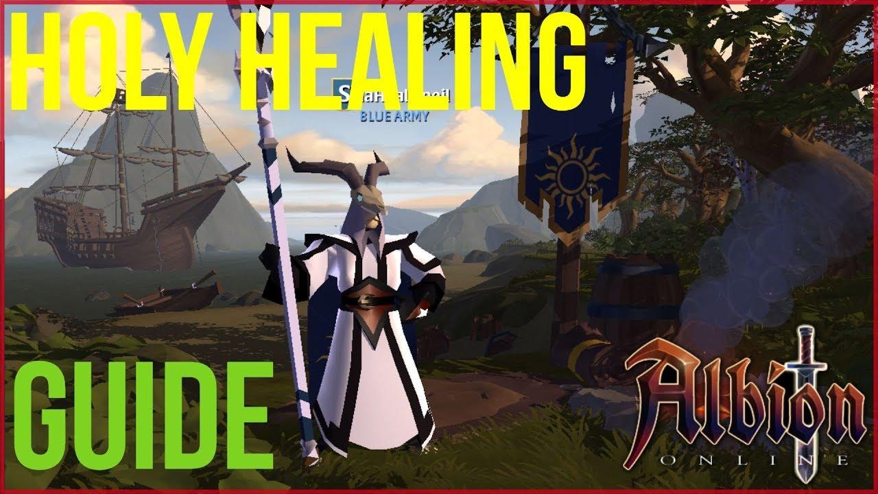 Albion Online l Holy Healer Guide (2018)