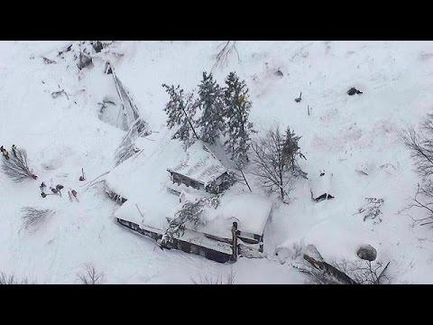 Italien: Starke Lawine trifft Hotel im Erdbebengebiet; viele Tote befürchtet