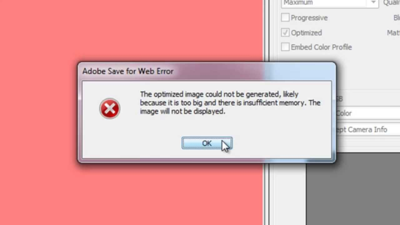 Photoshop Insufficient Memory , Fixed !!!!
