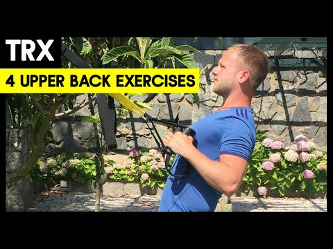 4 TRX Upper Back Exercises