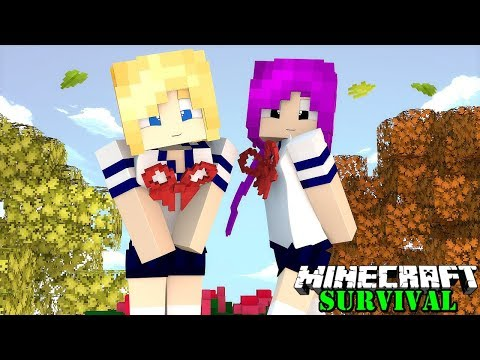 MENEMUKAN DESA YANG ISINYA HANYA CEWEK SEMUA ! Minecraft Survival #51