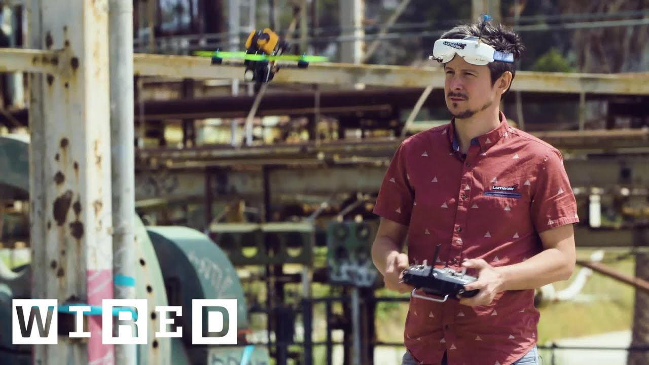 Meet One of the Best Drone Pilots in the World | WIRED