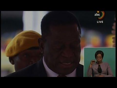 Raw: Zimbabwe Swears-In New President