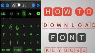 Styles Keyboard app Download |Font type keyboard | screenshot 4