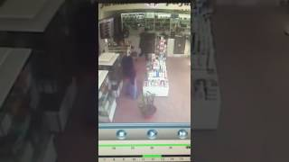 Robo a una farmacia en Mar del Plata 1 2017 Video