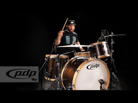 PDP by DW Presents Concept Series Classic Wood Hoop Kit + Bass Drum Comparison with Dave Elitch