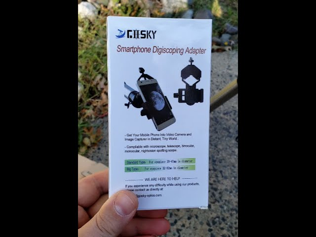 REVIEW - GOSKY Smartphone Digiscoping Adapter