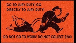 Jury Duty: I do Not Consent