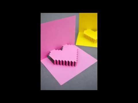3Д открытка с сюрпризом. на 8 марта. Как сделать своими руками. 3D postcard with a surprise