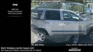 Used 2009 Jeep Grand Cherokee | Hot Wheels Auto Sales LLC, Manchester, CT
