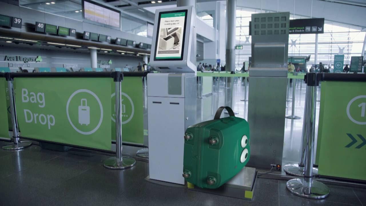 Aer Lingus Express Bag Drop Youtube