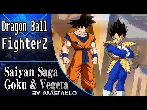Saiyan Saga Goku & Vegeta Dragon Ball FighterZ Mod