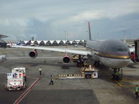 Royal Jordanian A340-211 - Flight from Bangkok Suvarnabhumi (BKK) to Kuala Lumpur Int'l (KUL)