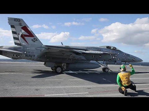 Navy's Newest, Most Sophisticated Aircraft Carrier: USS Gerald R. Ford – Flight Operations