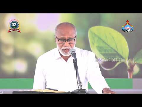 Hosanna Ministries 42 FEAST OF TABERNACLES 3rd Day Morning Pas.(Madanapalle) RAJASEKHAR Gare MESSAGE