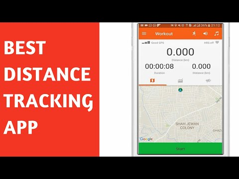 Best Free Distance Tracking App (Android)