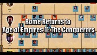 rome returns to aoe ii