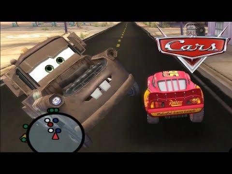 Disney Pixars Cars Movie Game - Crash Mcqueen 38 - Radiator Springs Smash Show |