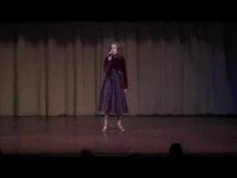 Emily Carey sings Christmas Medley