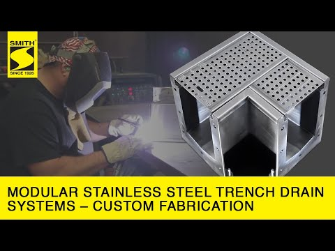 Modular Stainless Steel Trench Drain Systems - Custom Fabrication HD