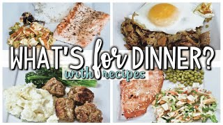 WHAT'S FOR DINNER | EASY DINNERS | COOK WITH ME  | JULY 11-17