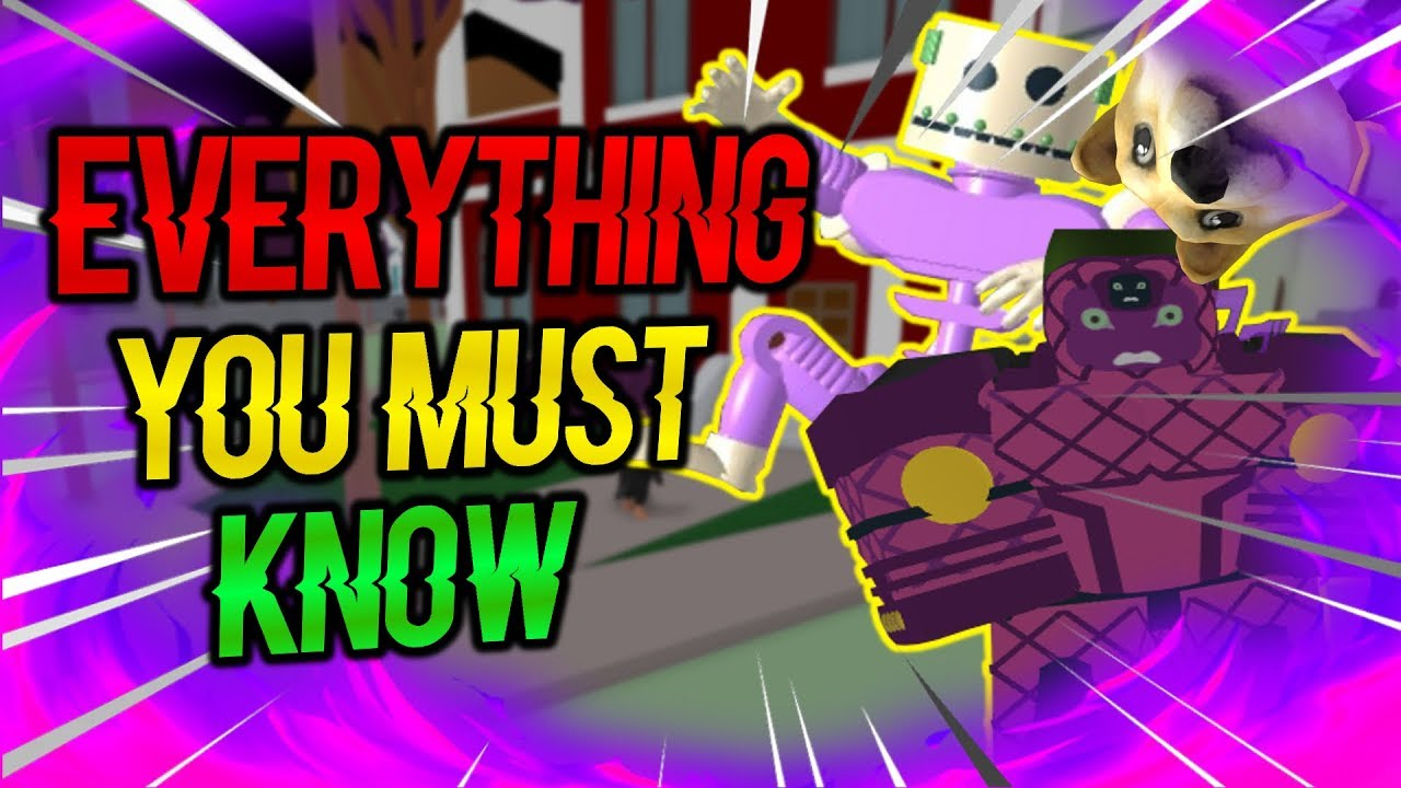 EVERYTHING YOU MUST KNOW! ⭐️ | PROJECT JOJO | ROBLOX