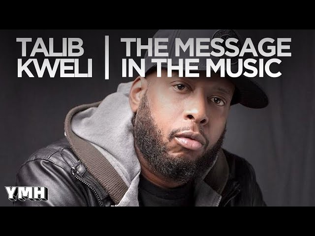 Kweli Explains The Message In His Music - Tom Talks Highlight