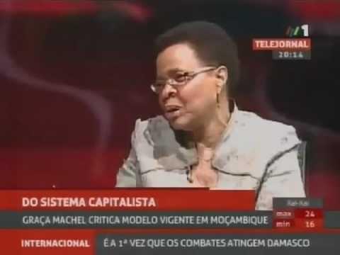 """Graça Machel critica modelo """"capitalista"""" moçambicano"""