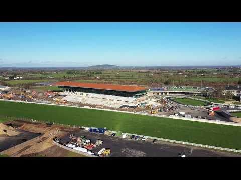 Orbit of the new Grandstand in the Curragh Racecourse 28-01-19