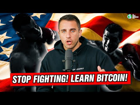 Americans: Stop Fighting With Other, Learn Bitcoin