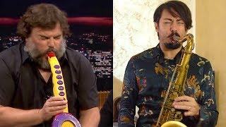 SAX-A-BOOM 🎷Jack Black performes (Saxophone Cover)