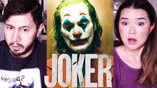 JOKER   Joaquin Phoenix   Teaser Trailer Reaction!