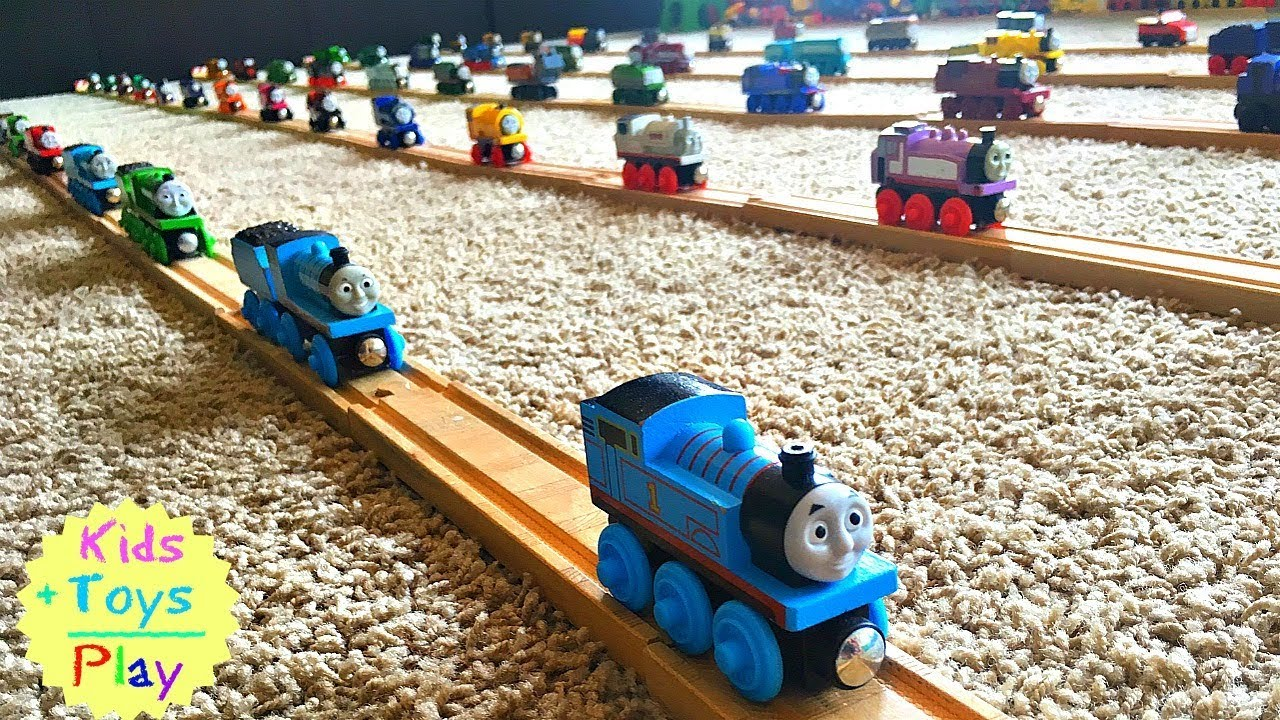 Thomas Wooden Railway Collection Biggest Thomas And Friends Toy Train Collection Thomas 2017