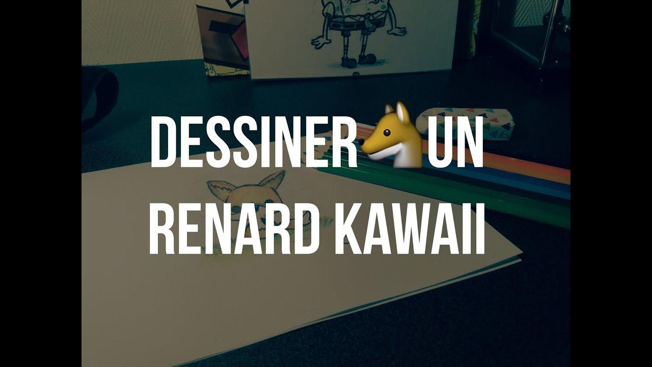 Dessiner Un Renard Kawaii