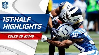 Rams Dominate Colts in the First Half! | NFL Week 1 Highlights