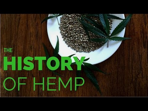 The History of Hemp Timeline