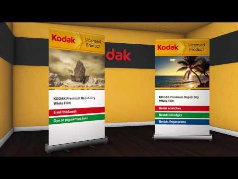 Kodak Premium Rapid Dry White Film