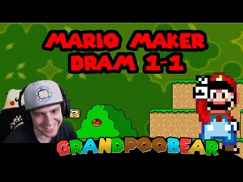 Don't Be So Salty Poo! Dram 1-1 In Mario...