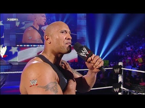 The Rock recites The Pledge of Allegiance: Raw, May 2, 2011