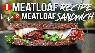 World's Greatest Meatloaf Recipe + the Best Leftover Ideas | SAM THE COOKING GUY 4K