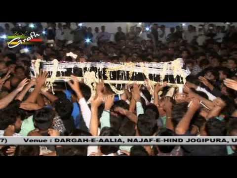 Taboot Imam Ali (a.s.) Masjid to Rauza-e-Imam Ali a.s. 1438-2017 | Najaf-e-Hind, Jogipura