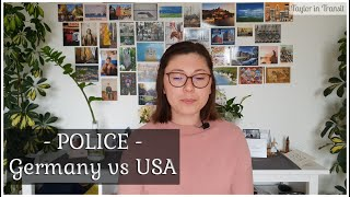 Law Enforcement / Police in Germany vs the USA