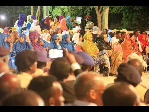 Daawo Xafladda 1 August ee Garowe lagu qabtay