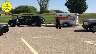 When Thieves Looked Inside This Stolen U Haul, They Ditched The Trailer And Ran Away Fast